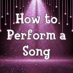 How to perform a song online vocal training course for kids