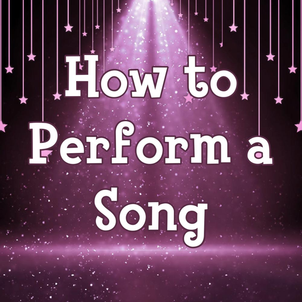 How to perform a song online singing classes for kids