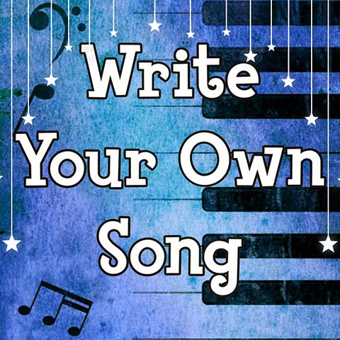 Write your own song online songwriting course for kids
